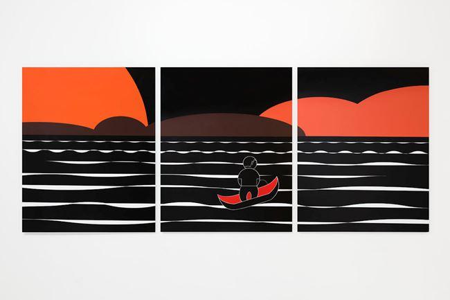 Red Sun by Jiang Li contemporary artwork