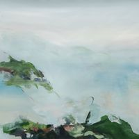 which way the wind blows by Hollis Heichemer contemporary artwork painting