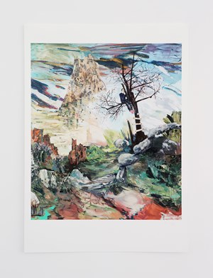 Don't Tell It on the Mountain * by Hernan Bas contemporary artwork