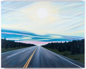 Road to Erehwon/Psychadelic by Robin Lowe contemporary artwork