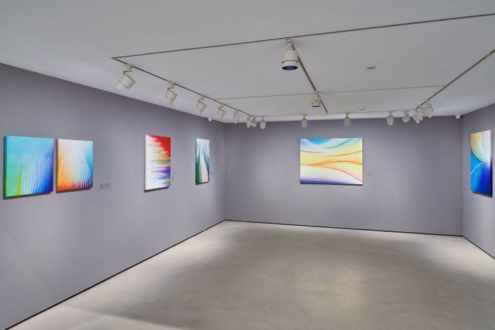 Exhibition view: Tsuyoshi Maekawa, The Pioneer of Postwar Japanese Art, Whitestone Gallery, Taipei (22 May–11 July 2021),Courtesy Whitestone Gallery.