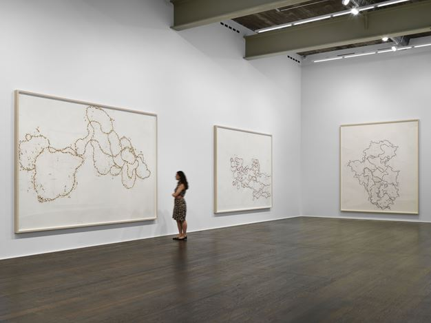 Exhibition view: Roni Horn, Wits' End Sampler | Recent Drawings, Hauser & Wirth, Zürich(10 June–1 September 2018). © Roni Horn. Courtesy Hauser & Wirth.