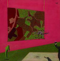 Kapowai by Huhana Smith contemporary artwork painting