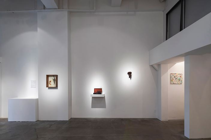Exhibition view: Mitsugu Sato and Sadaharu Horio, ALIVE— living on, expression evolving, Gallery NAO MASAKI (11–26 April 2020). Courtesy Gallery NAO MASAKI.