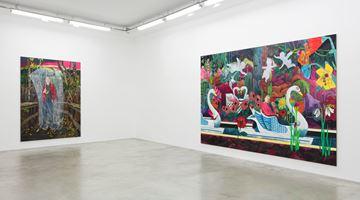 Contemporary art exhibition, Hernan Bas, Creature Comforts at Perrotin, Paris, France