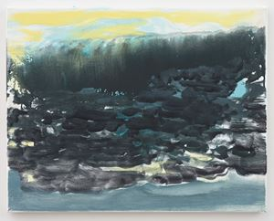 Landscape by Marlene Dumas contemporary artwork painting, works on paper