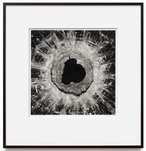 Untitled (Terrorist Attack; November 2015, Paris;Homage to William Blake) by Robert Longo contemporary artwork