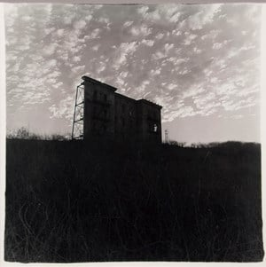 A HOUSE ON A HILL, HOLLYWOOD, CAL. by Diane Arbus contemporary artwork