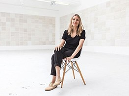 One artist's surprising, powerful new subject, 1000 dishcloths