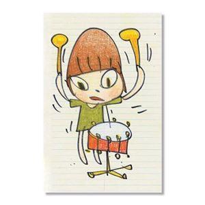 Banging the Drum by Yoshitomo Nara contemporary artwork