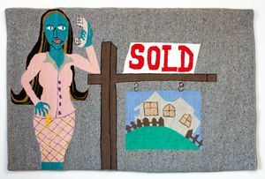 Real Estate Agent by Claudia Kogachi contemporary artwork