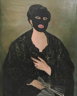 La novia española de Fantômas by Eduardo Arroyo contemporary artwork