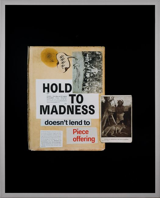 This year, hold to madness... by Brook Andrew contemporary artwork