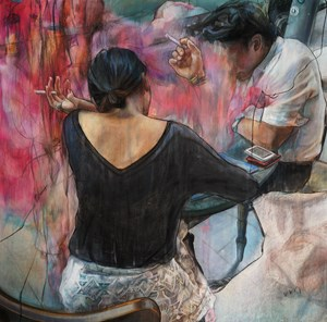 We were together. I forgot the rest by Vivian Ho contemporary artwork