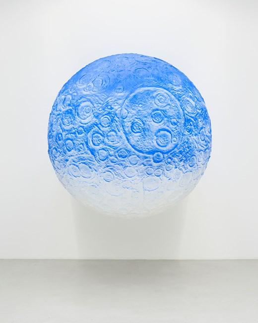 Moon by Daniel Arsham contemporary artwork