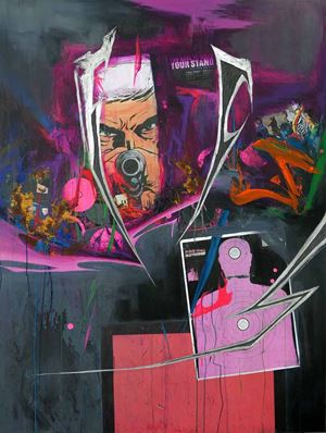 OPEN FIRE by Ian Tee contemporary artwork