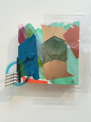 Windshield by Jessica Stockholder contemporary artwork