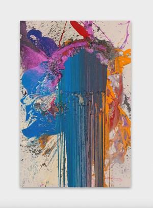 Ombres by John M Armleder contemporary artwork