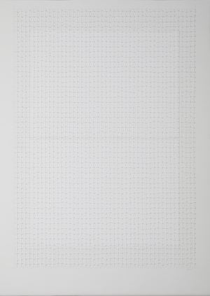 Untitled (work on paper, 6 - 17) by Maxine Attard contemporary artwork