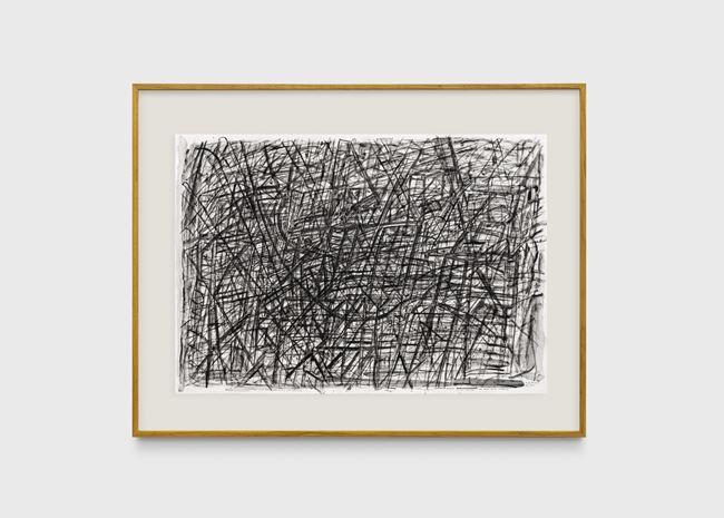 Desenho muito escuro com rabo muito comprido by Milton Machado contemporary artwork