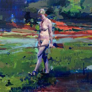 C.B. with 22 by Alex Kanevsky contemporary artwork