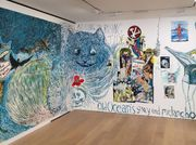 Raymond Pettibon keeps drawing over his works at David Zwirner, and other observations this morning in Mayfair