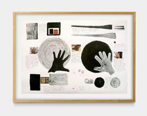 Dois círculos (Warchavchik) by Milton Machado contemporary artwork