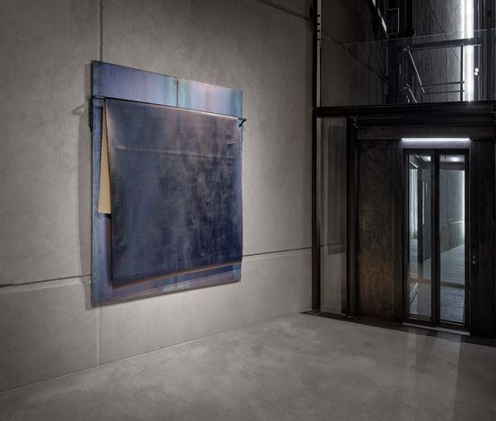Installation view: Jannis Kounellis Room #7,Kewenig Berlin (7 July – 1 August 2020). © Jannis Kounellis. Courtesy Kewenig. Photo: Lepkowski Studios, Berlin.