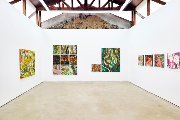 Exhibition view: Sojung Lee, Compass, GALLERY2 Joongsun Nongwon, Jeju Island (4 September–27 November 2021). Courtesy GALLERY2.