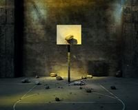 Rock Court 岩石球场 by Chen Wei contemporary artwork photography