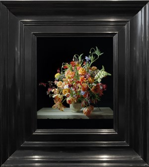 Transforming Flowers in a Vase by Rob and Nick Carter contemporary artwork