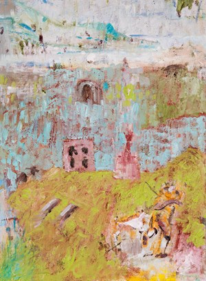 Roman holiday by Stephen Benwell contemporary artwork