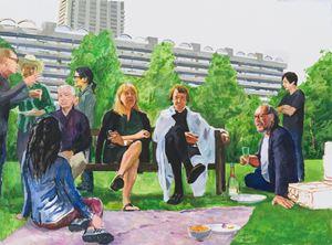 Summer Evening by Zhu Jia contemporary artwork