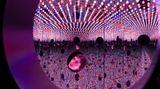 Contemporary art exhibition, Yayoi Kusama, Festival of Life at David Zwirner, 19th Street, New York, USA