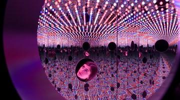 Contemporary art exhibition, Yayoi Kusama, Festival of Life at David Zwirner, New York