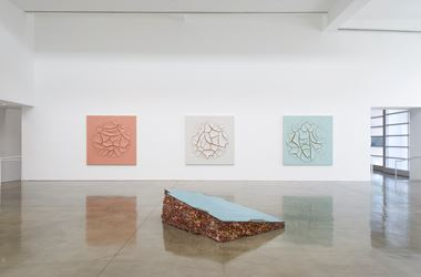 Exhibition view: Adriana Varejão, Interiors, Gagosian, Beverly Hills (14 September–25 October 2017). © Adriana Varejão.Courtesy Gagosian. Photo: Jeff McLane.