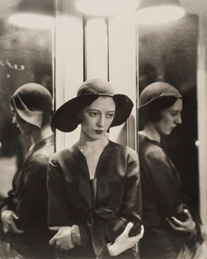 Marianna Van Rensselar In Charles James Hat by Cecil Beaton contemporary artwork