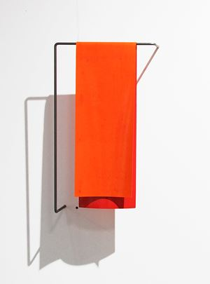 Orange Red by Helen Calder contemporary artwork