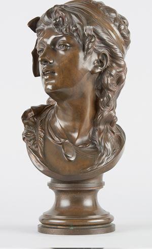 Buste de Suzon by Auguste Rodin contemporary artwork