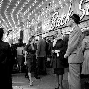At the Balaban & Katz United Artist Theater, Chicago, IL by Vivian Maier contemporary artwork