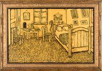 Bedroom (Homage to Van Gogh) 卧室(向梵高致敬) by NI Youyu contemporary artwork painting