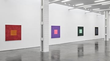 Contemporary art exhibition, Peter Joseph, The Border Paintings at Lisson Gallery, West 24th Street, New York