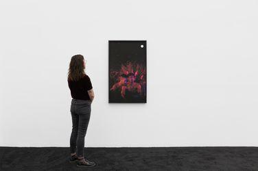Exhibition view: Christopher Udemezue, Under the Palm Tree Leaves, Anat Ebgi, Culver City(25 September–6 November). Courtesy Anat Ebgi.
