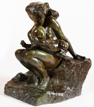 Amour qui passe by Auguste Rodin contemporary artwork