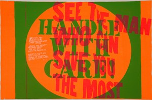 handle with care by Corita Kent contemporary artwork