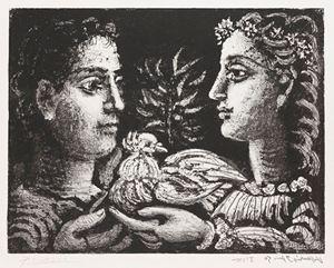 Jeunesse by Pablo Picasso contemporary artwork