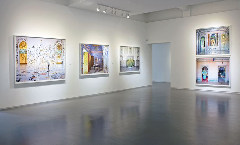 Exhibition view: Karen Knorr,Migrations, Sundaram Tagore Gallery, Singapore (21 September–16 November 2019). Courtesy Sundaram Tagore Gallery.