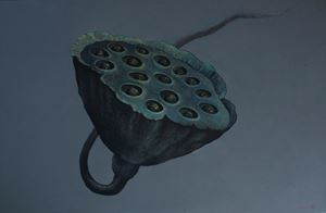 Empty Holes are Filled With Seeds by Gayan Prageeth contemporary artwork