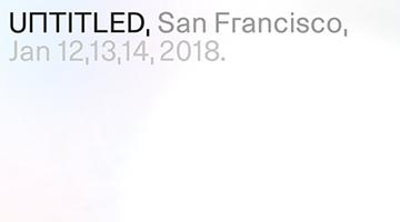 Contemporary art art fair, UNTITLED. SF 2018 at David Zwirner, 19th Street, New York, USA