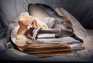 Anthropogenic Sediments by Marian Drew contemporary artwork
